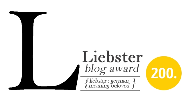 Liebster Award (dammit Imbrium)